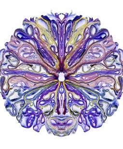 """""""Cosmic"""" 2014 -  48"""" x 48"""" ed./9, 36"""" x 36"""" ed.9, 24"""" x 24"""" ed./9"""