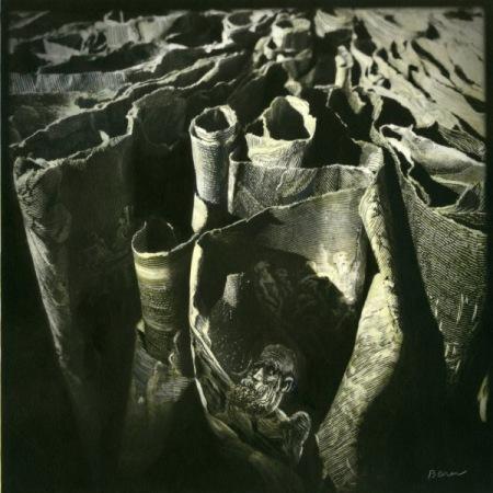 """Dante's Depth's"" 10″ x 10″ ed. of 9"